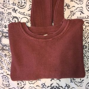 Pacsun LA Hearts Ribbed Sweater